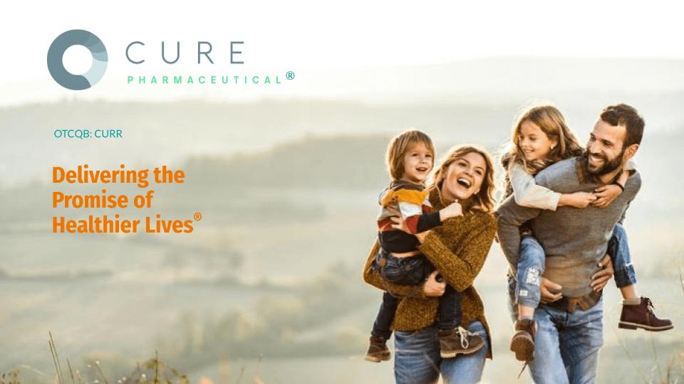 cure investor presentation cover